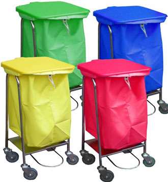 Collection trolley bags